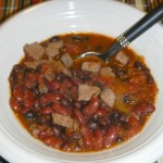 Crock-Pot Steak and Bean Chili