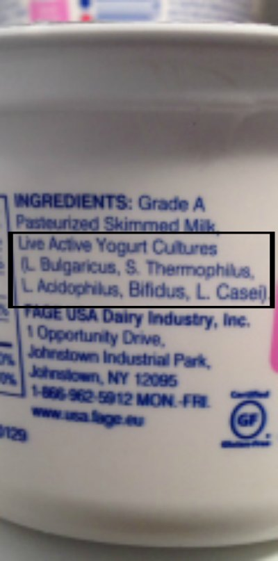 Yogurt With Live Active Cultures