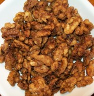 sugar coated walnuts