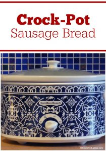 Crock-Pot Sausage Bread