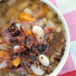Crock-Pot Bacon & Bean Soup