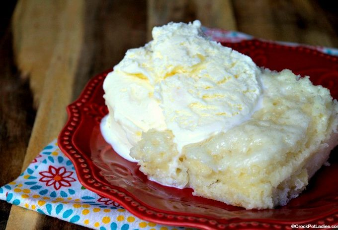 Crock-Pot Pineapple Angel Food Cake