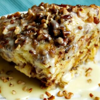 Crock-Pot Cinnamon Sweet Roll Casserole
