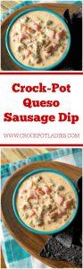 Crock-Pot Queso Sausage Dip
