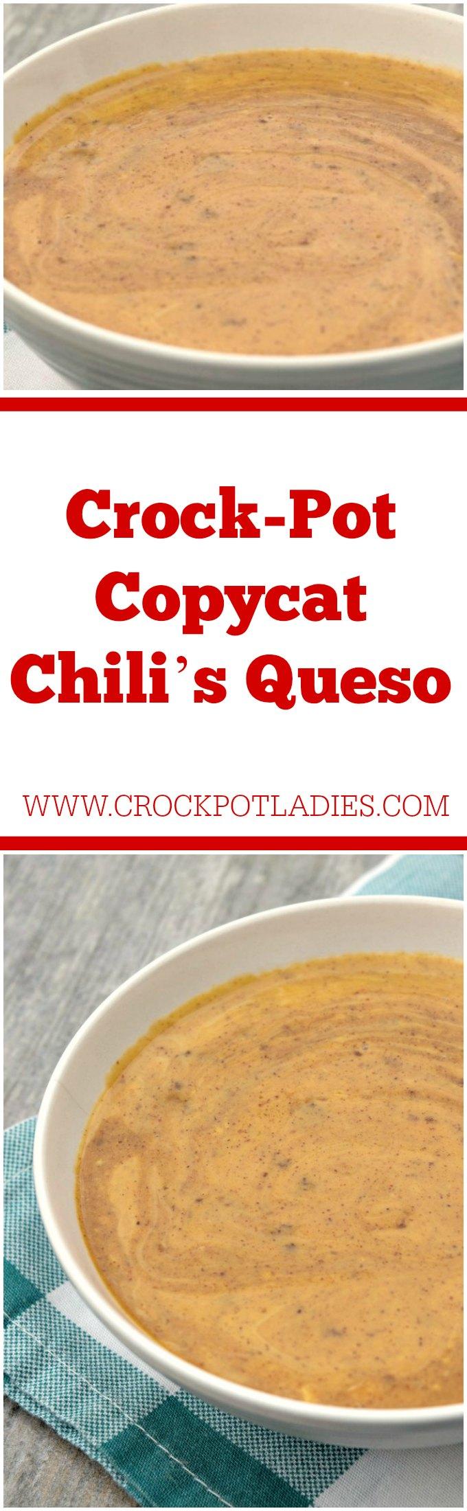 Crock-Pot Copycat Chili's Queso
