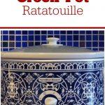 Crock-Pot Ratatouille