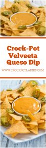 Crock-Pot Velveeta Queso Dip
