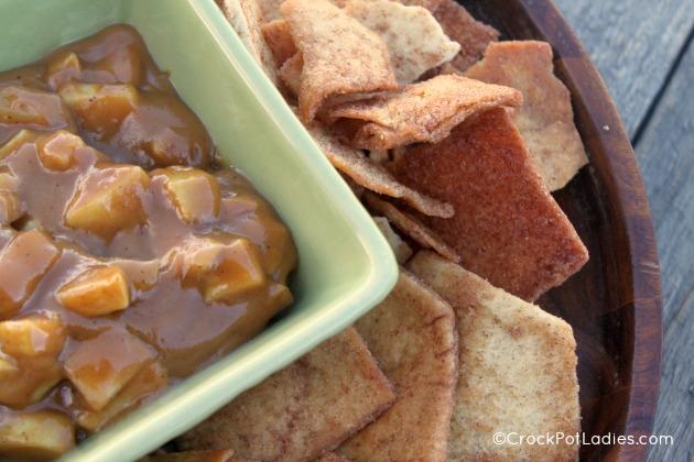 Crock-Pot Caramel Apple Pie Dip