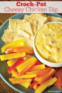 Crock-Pot Cheesy Chicken Dip