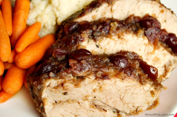 Crock-Pot Cranberry & Orange Pork Roast