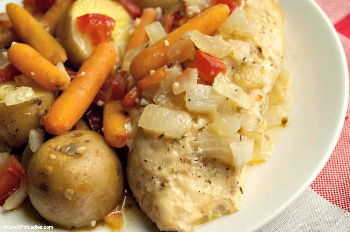 Crock-Pot Easy Herb Chicken and Veggies