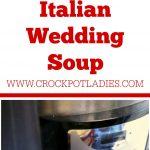 Crock-Pot Italian Wedding Soup