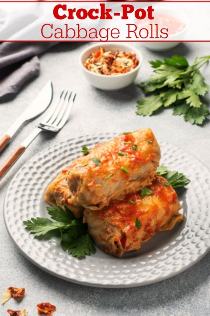 Crock-Pot Cabbage Rolls