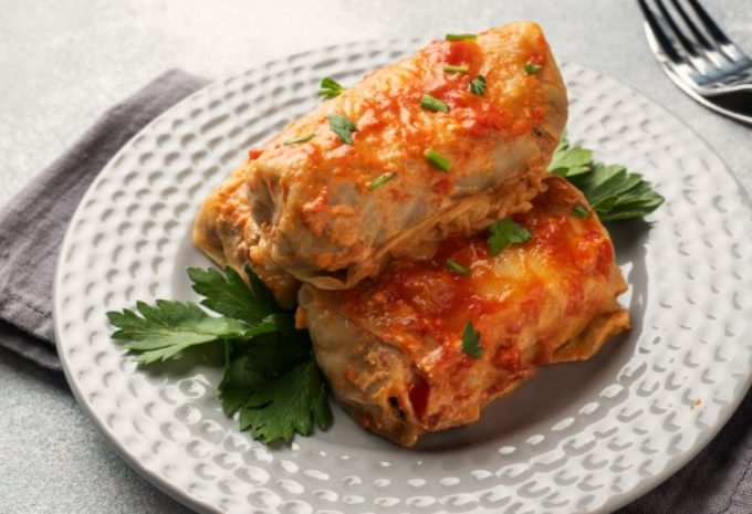 Crock-Pot Cabbage Rolls