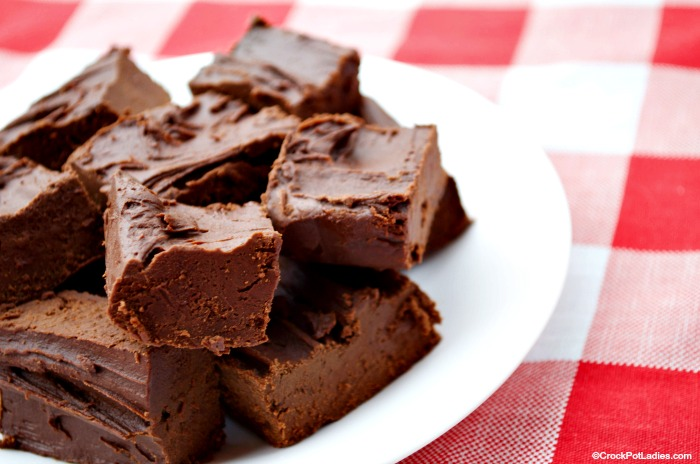 Crock-Pot Chocolate Fudge