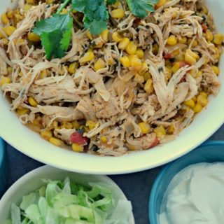 Crock-Pot Cilantro Lime Chicken - Tender, moist and flavorful you are going to want to make this recipe for Slow Cooker Cilantro Lime Chicken today!. Serve the meat in tortillas as a taco or burrito filling or over rice in a healthier rice bowl. | CrockPotLadies.com