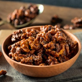 Crock-Pot Maple Glazed Walnuts