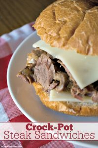 Crock-Pot Steak Sandwiches