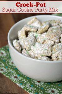Crock-Pot Sugar Cookie Party Mix