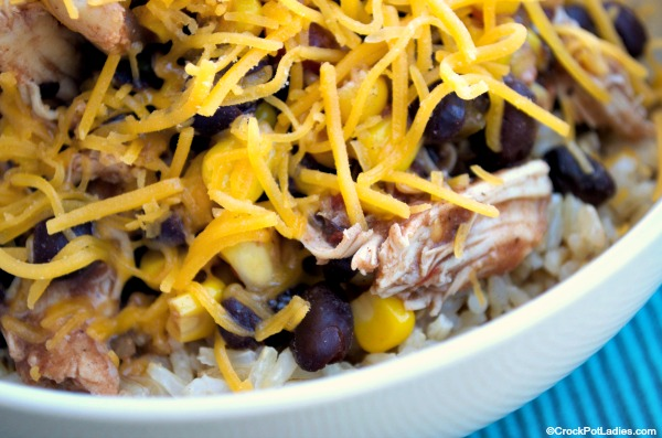 Crock-Pot Taco Chicken Bowls