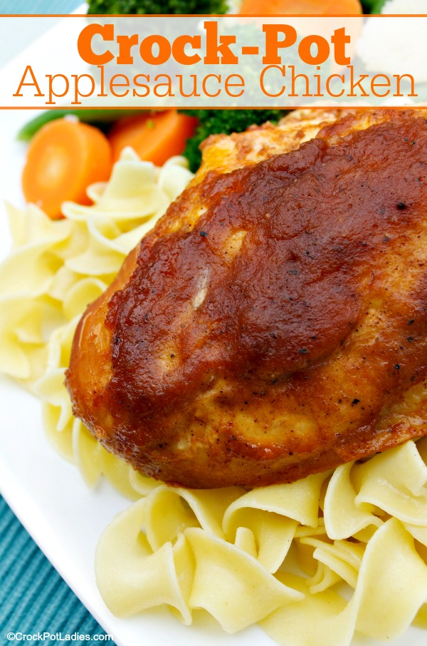 Crock-Pot Applesauce Chicken
