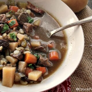 Crock-Pot Beef Barley Stew