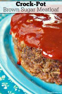 Crock-Pot Brown Sugar Meatloaf
