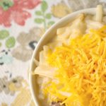 Crock-Pot Cheesy Potatoes and Ham