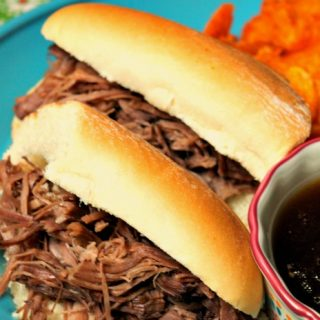 Crock-Pot Easy French Dip Sandwiches
