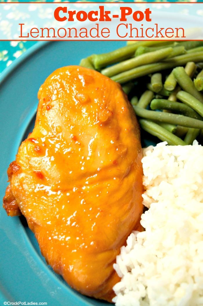 Crock-Pot Lemonade Chicken