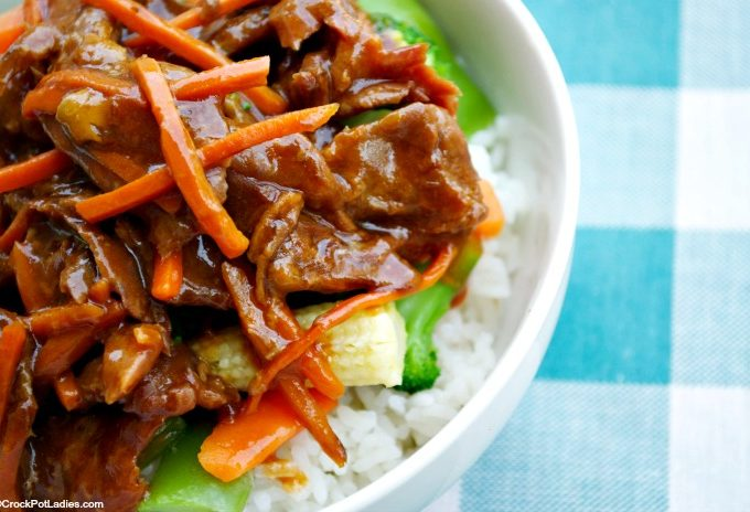 Crock-Pot Sweet & Sour Beef