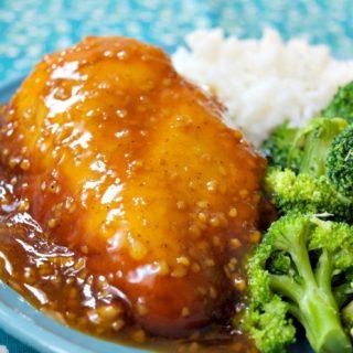 Crock-Pot Brown Sugar Garlic Chicken