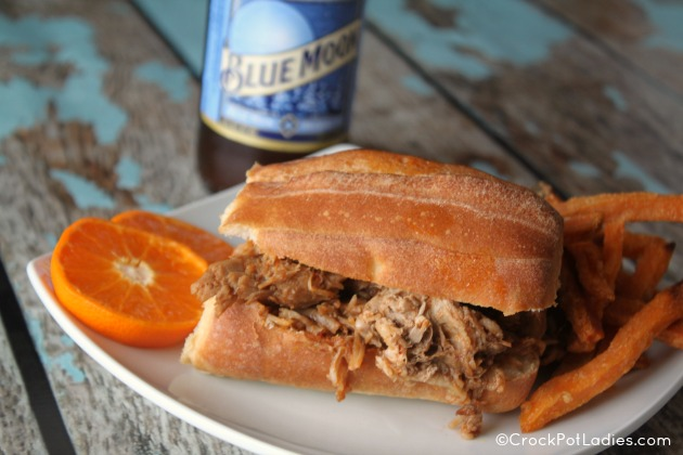 Crock-Pot Citrus Chipotle Pulled Pork