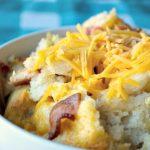 Crock-Pot Biscuit and Bacon Breakfast Casserole