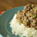 Crock-Pot Mediterranean Beef and Rice