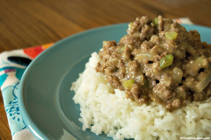 Crock-Pot Mediterranean Beef and Rice