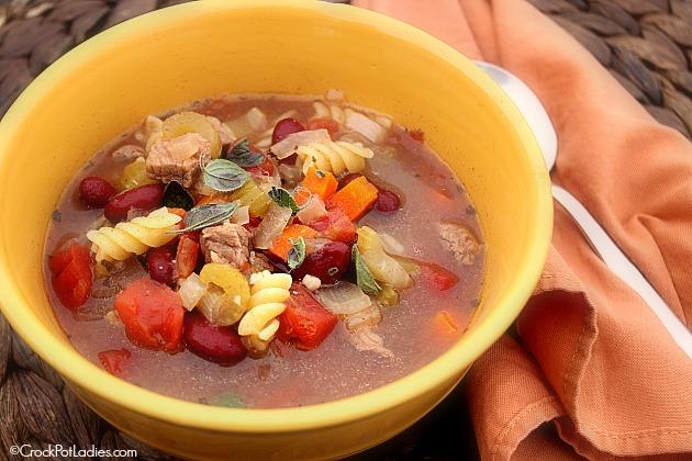 Crock-Pot Zesty Italian Soup