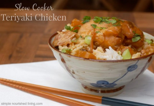 Slow Cooker Teriyaki Chicken with Pineapple