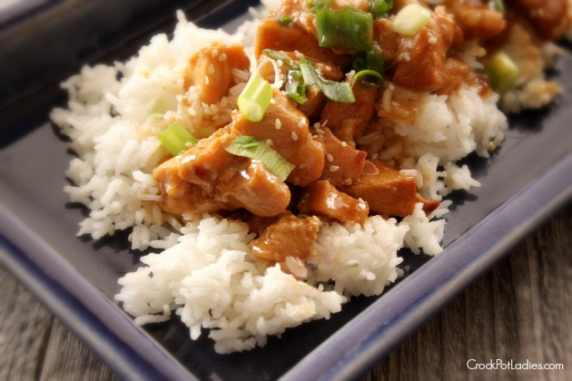 Crock-Pot Honey Sesame Chicken (via CrockPotLadies.com}