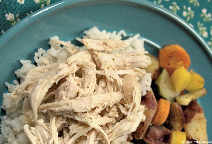 Crock-Pot Marinated Greek Chicken