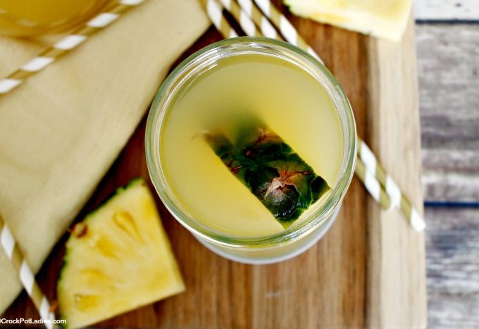Crock-Pot Pineapple Moonshine