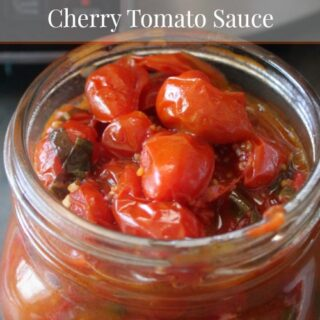 Crock-Pot Roasted Cherry Tomato Sauce