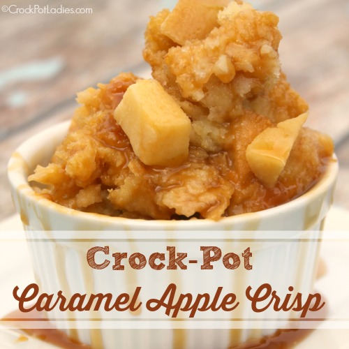 Crock-Pot Caramel Apple Crisp
