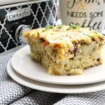 Crock-Pot Fully Loaded Breakfast Casserole