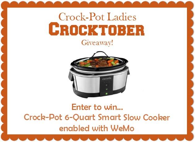 Crocktober Crock-Pot Giveaway!