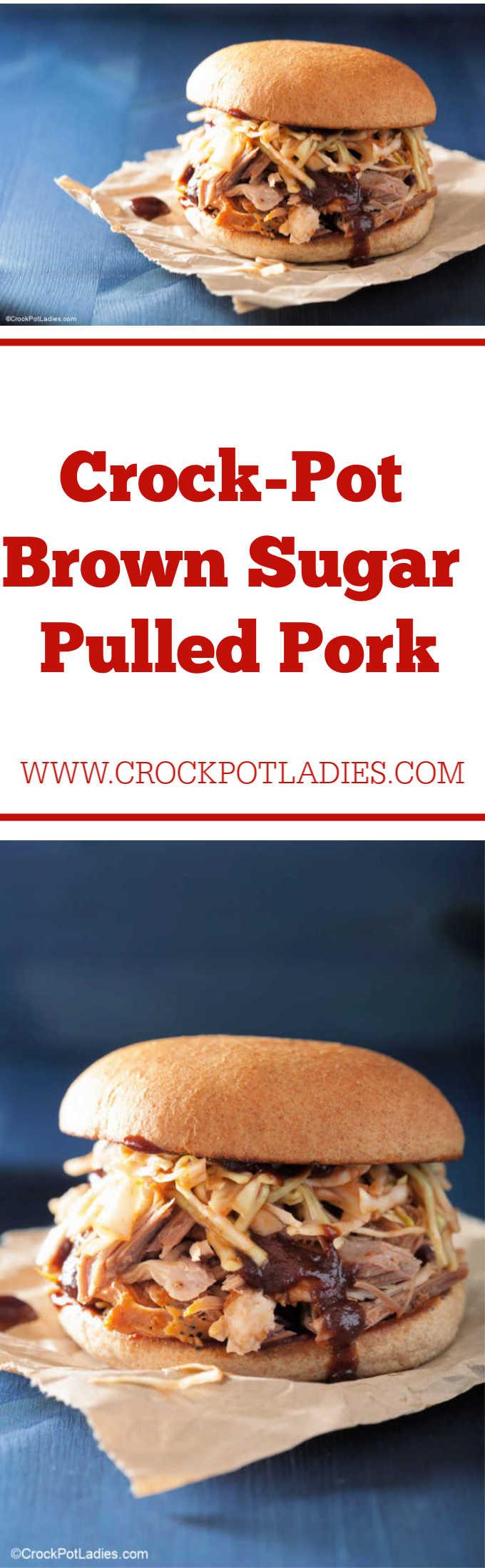 Crock-Pot Brown Sugar Pulled Pork