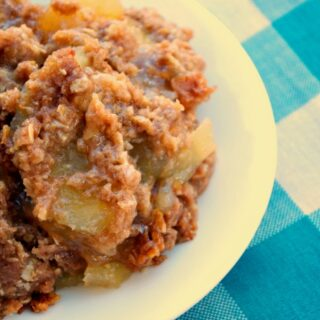 Crock-Pot Spiced Apple Dump Cake