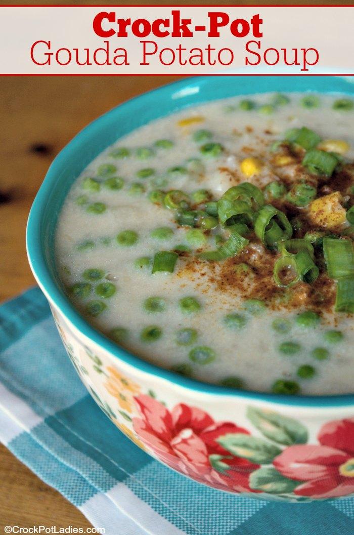 Crock-Pot Gouda Potato Soup
