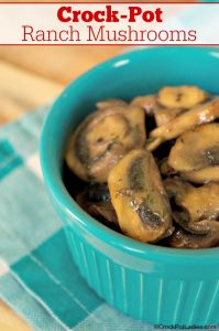 Crock-Pot Ranch Mushrooms
