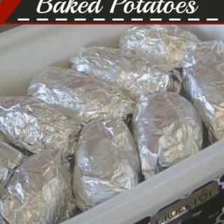 Crock-Pot Baked Potatoes